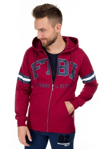 Fbi Sweatshirt Bordo